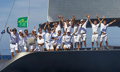 Gold at Maxi Worlds (Wally class) 2013